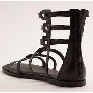 71cb8c7f83f torrid Shoes - Black Studded Gladiator Sandals (Wide Width) 10.5